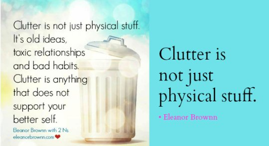 cutting the clutter from your life